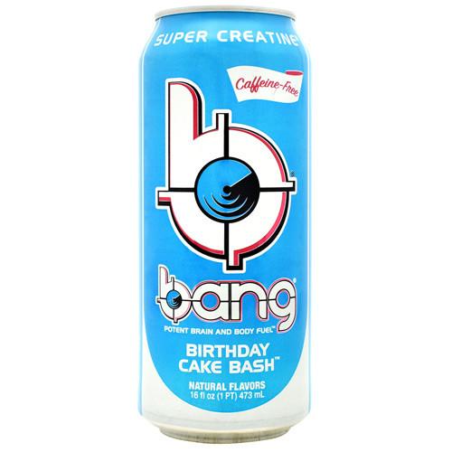 Bang, Birthday Cake Bash, 12 (16oz) Cans
