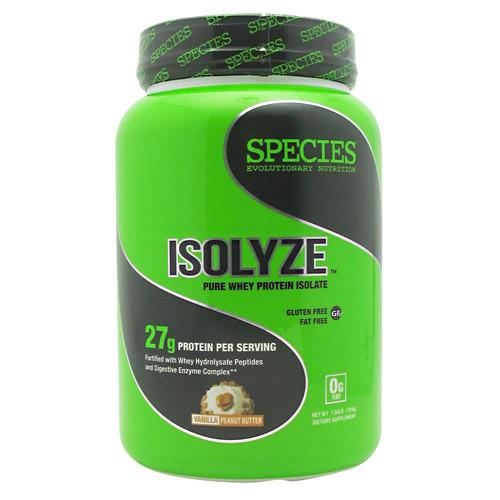 Isolyze, Vanilla Peanut Butter, 22 Servings