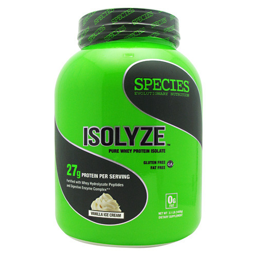 Isolyze, Vanilla Ice Cream, 44 Servings