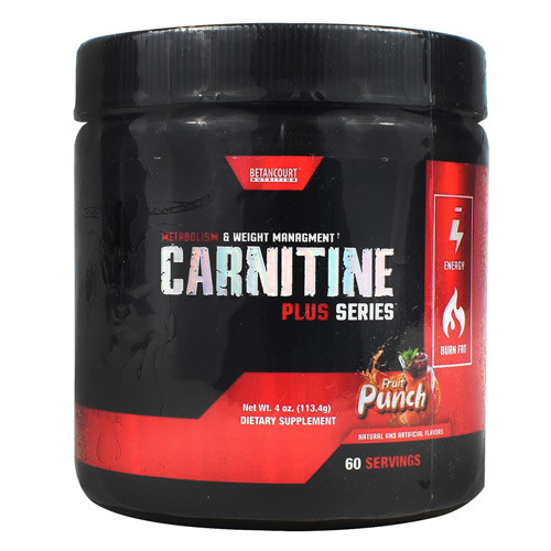 Carnitine, Fruit Punch, 60 Servings