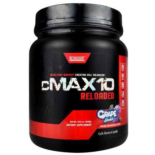 Cmax 10 Reloaded, Grape Slushie, 20 Servings (840g)