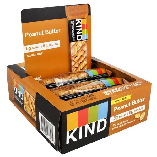 Kind Bar, Peanut Butter, 12 (1.4 oz) Bars