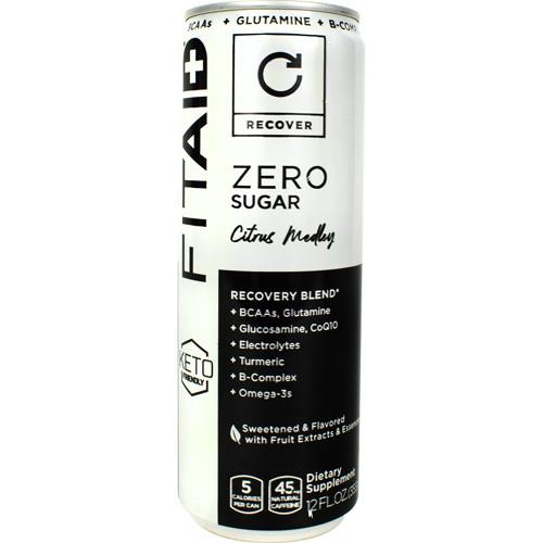 Fitaid Zero Citrus 12oz 12/c