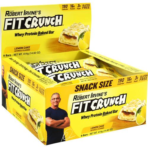 Fit Crunch Bar 46g Lemon 9/box