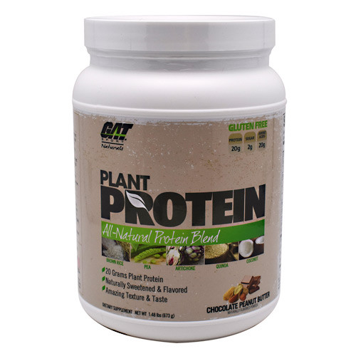 Plant Protein, Chocolate Peanut Butter , 1.48 lbs (673 g)
