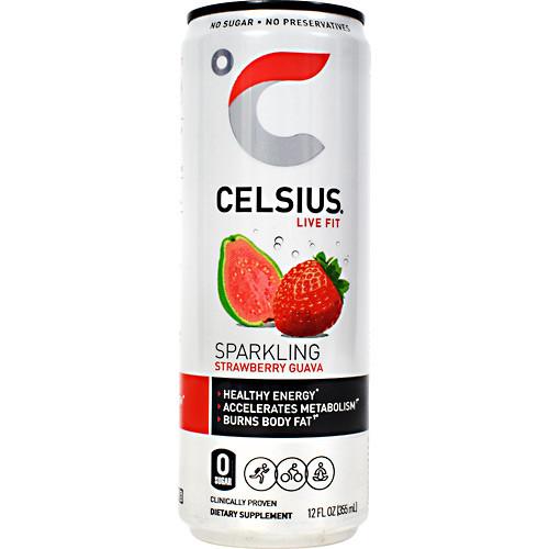 Celsius Strawbry Guava 12oz 12