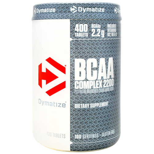 Bcaa Complex 2200, 400 Caplets, 400 Tablets