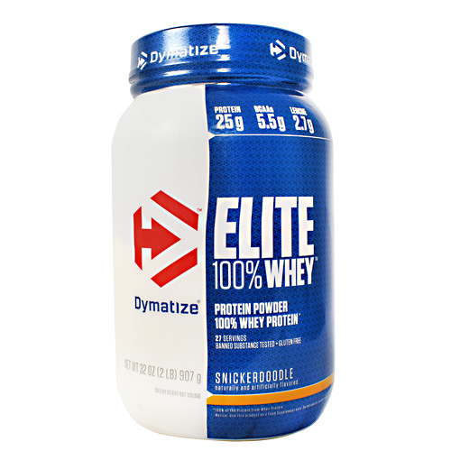 Elite 100% Whey, Snickerdoodle, 2 lb (907 g)