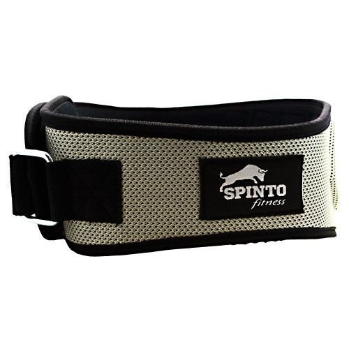 Foam Core Lifting Belt, Silver, LG