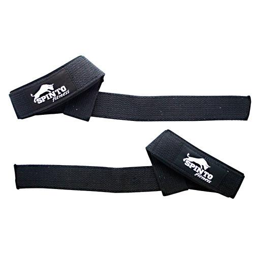 Padded Wrist Strap, Black Cotton
