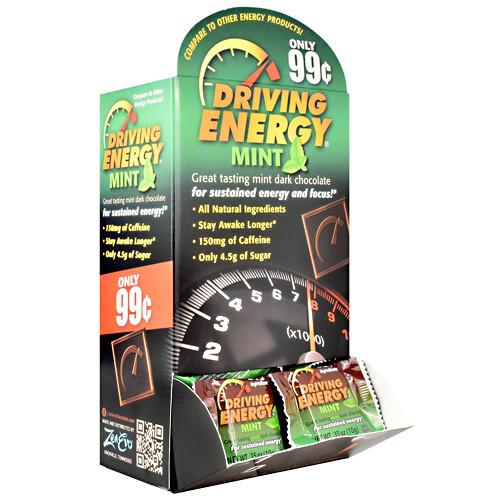 Driving Energy, Mint, 50 (0.35 oz.) Pieces