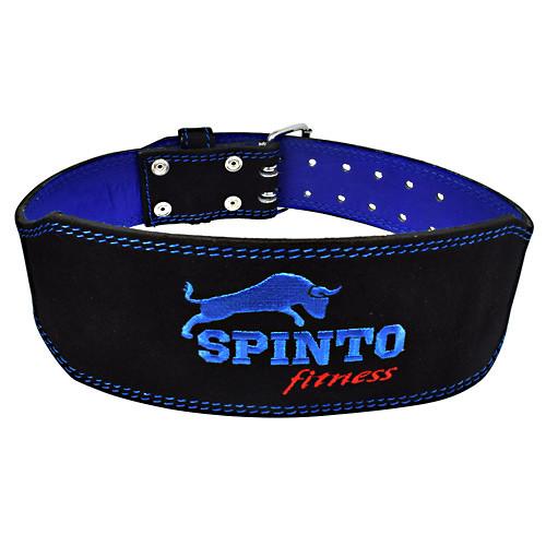 Suede Leather Belt, 1 Xl Black And Blue Belt, XL Belt