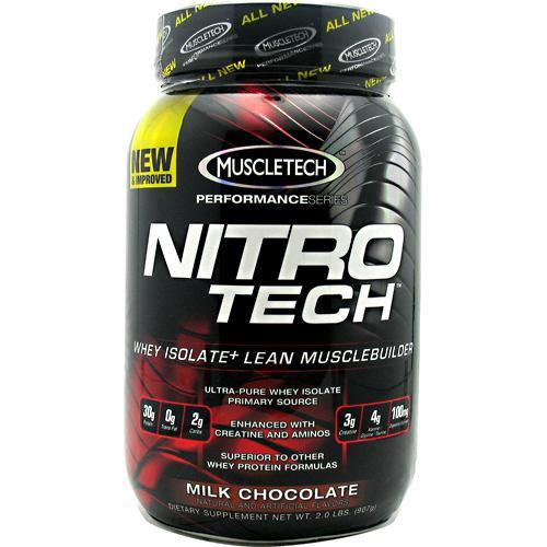 Nitro-tech, Milk Chocolate, 2 lbs (907g)