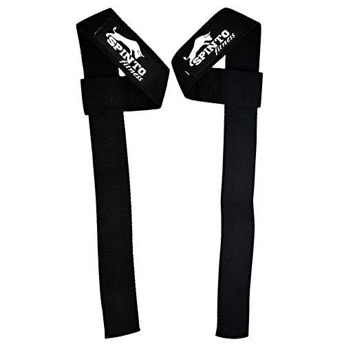 Basic Lifting Straps, 1  Black Pair Of Straps, 1 Pair of Lifting Straps