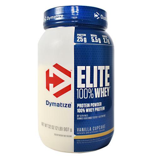 Elite 100% Whey, Vanilla Cupcake, 2 lb (907 g)