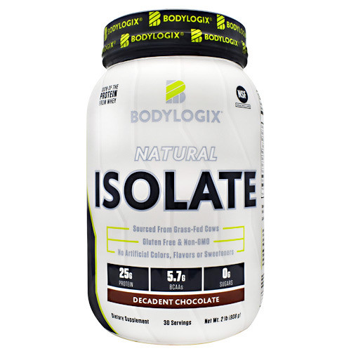 Natural Isolate Protein 2lb Decadent Chocolate, 2 lb (908g)