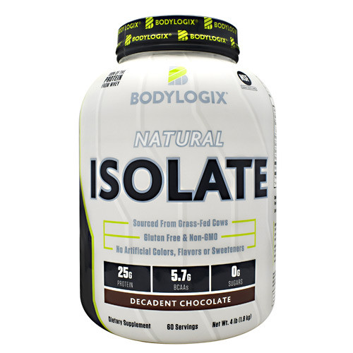 Natural Isolate Protein 4lb Decadent Chocolate, 4 lb