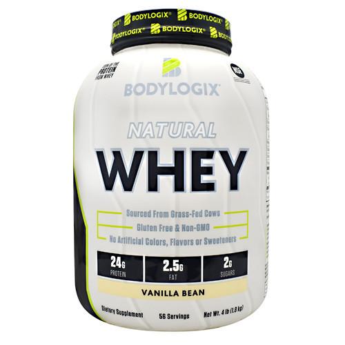Natural Whey Protein 4lb Vanilla Bean, 4 lb