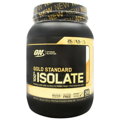 100% Isolate, Slow Churned Caramel Ice Cream, 24 servings