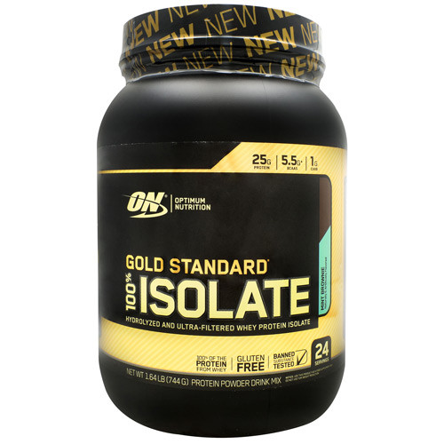 100% Isolate, Mint Brownie, 24 servings