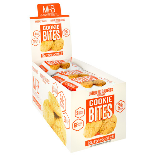 Cookie Bites, Butterscotch, 8 (3 pack) Cookies