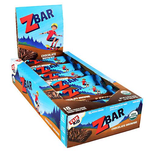 Zbar, Chocolate Brownie, 18  (1.27 oz) Bars