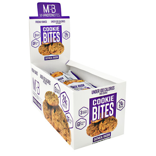 Cookie Bites, Oatmeal Raisin, 8 (3 pack) Cookies