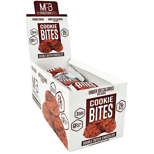 Cookie Bites, Double Dutch Chocolate, 8 (3 pack) Cookies