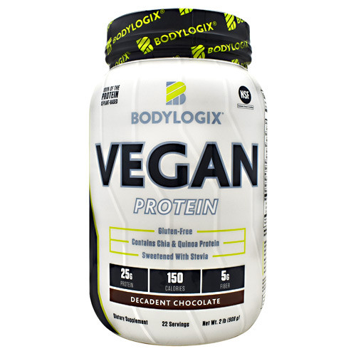 Vegan Protein 2lb Decadent Chocolate, 2 lb (908g)