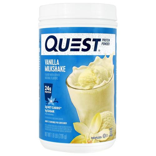 Protein Powder, Vanilla Milkshake, 1.6 lb (726g)