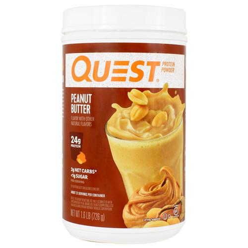 Protein Powder, Peanut Butter, 1.6 lb (726g)