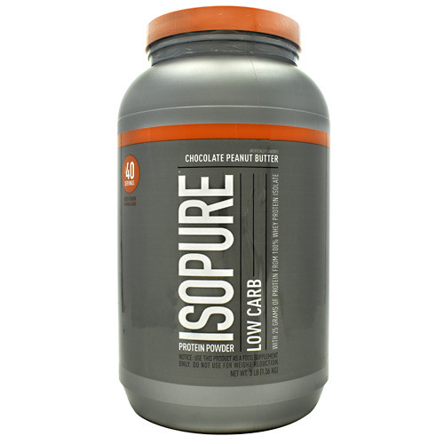 Low Carb Isopure, Chocolate Peanut Butter, 3 lb (1.36 kg)