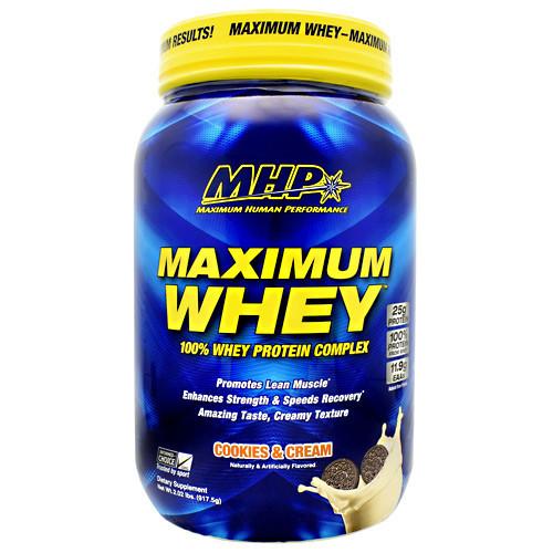 Maximum Whey, Cookies And Cream, 2.02 lbs (917.5g)