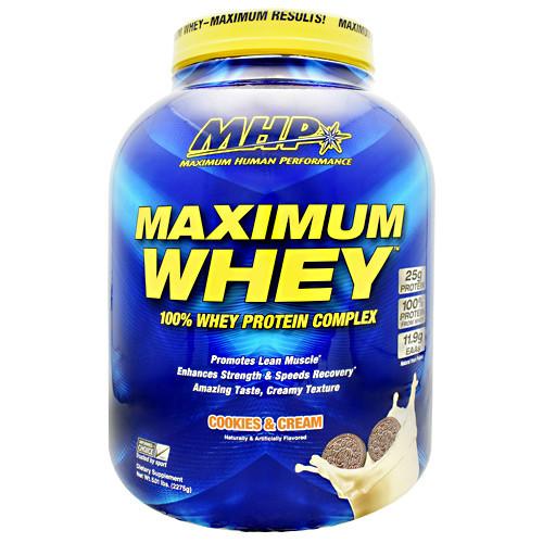 Maximum Whey, Cookies And Cream, 5.01 lb (2275g)