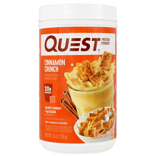 Protein Powder, Cinnamon Crunch, 1.6 lb (726g)