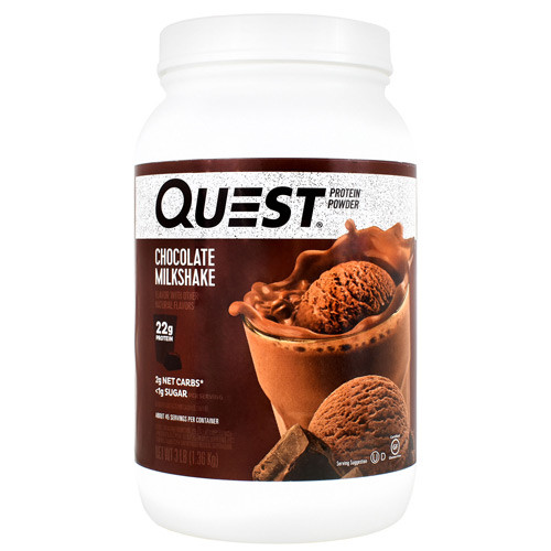 Protein Powder, Chocolate Milkshake, 3 lb. (1.36kg)