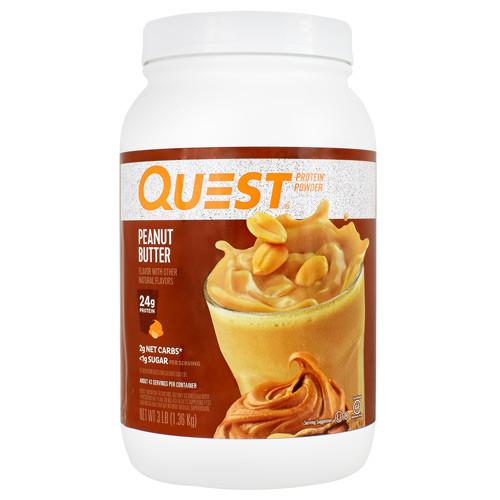 Protein Powder, Peanut Butter, 3 lb. (1.36kg)