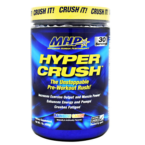 Hyper Crush, Rainbow Candy, 30 Servings (1 lb)
