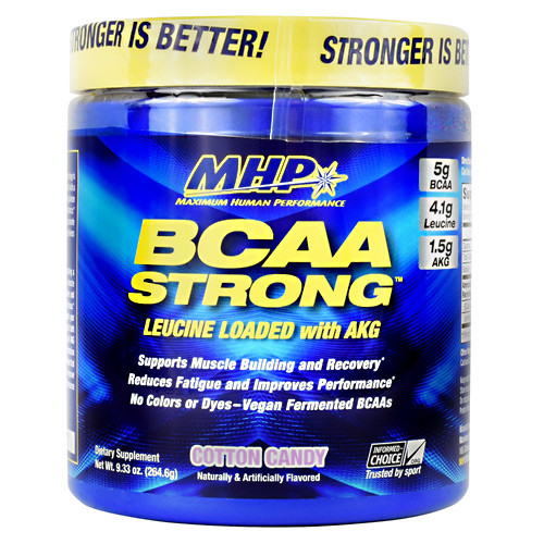 Bcaa Strong, Cotton Candy, 30 Servings (9.33 oz)