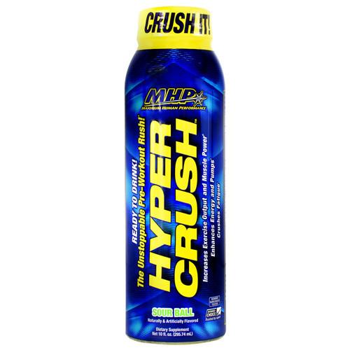 Hyper Crush Rtd, Sour Ball, 12 (10 fl oz) Bottles