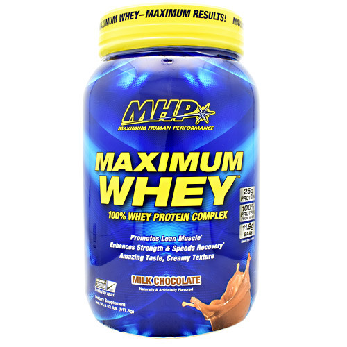 Maximum Whey, Milk Chocolate, 2.02 lbs (917.5g)