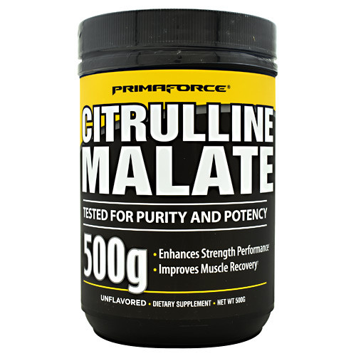 Citrulline Malate, Unflavored, 250 Servings (500g)