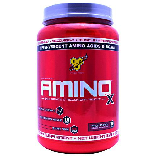 Amino X, Fruit Punch, 70 Servings (2.25 lb)