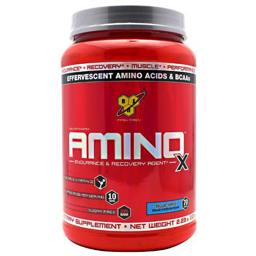 Amino X, Blue Raz, 70 Servings (2.24 lb)