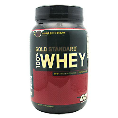 100% Whey, Double Rich Chocolate, 2 lbs (909 g)