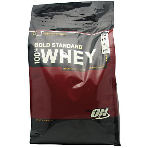 100% Whey, Double Rich Chocolate, 10 lbs