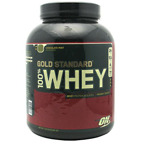 100% Whey, Chocolate Mint, 5 lbs