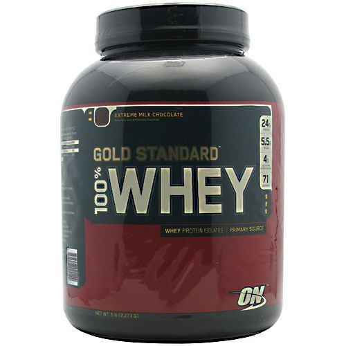 100% Whey, Extreme Milk Chocolate, 5 lb (2,273 g)