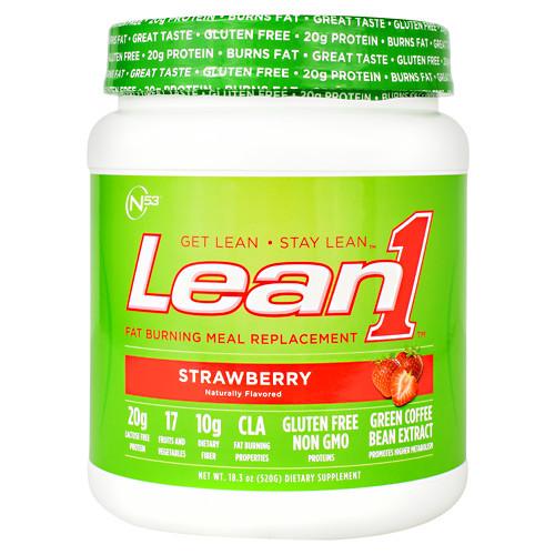 Lean1, Strawberry, 10 Servings (18.3 oz.)