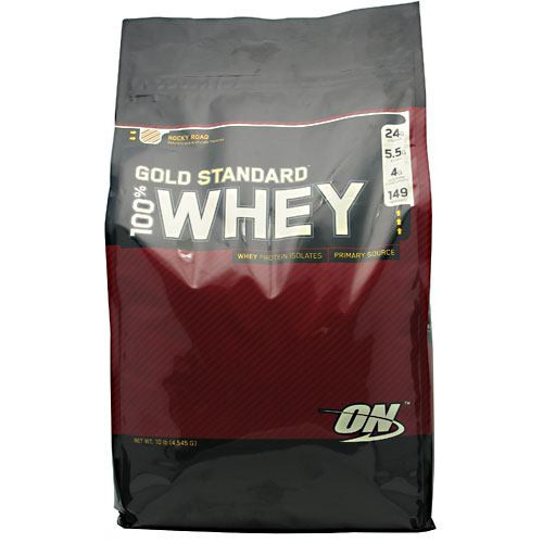 100% Whey, Rocky Road, 10 lbs (4,545g)
